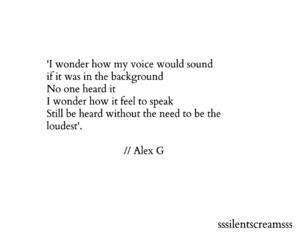Lyrics, quote, and speaking image