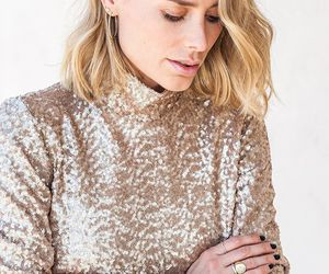 chic, fashion, and gold image