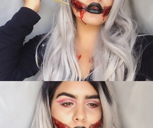 fx, grey hair, and Halloween image