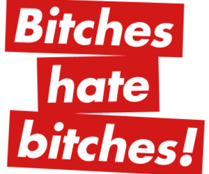 bitch, text, and style image