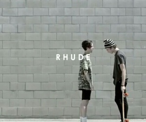 rhude, zach abels, and pretty image