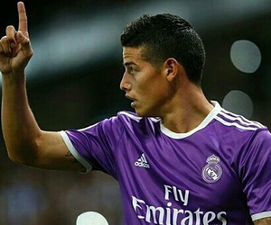 real madrid, sport, and james rodriguez image