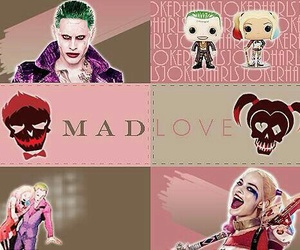 comic, harley quinn, and jocker image