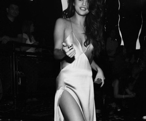celebrity, dress, and smile image