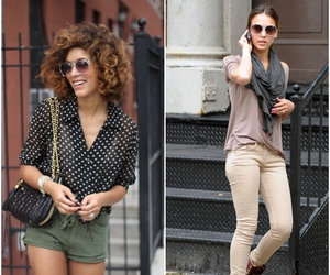 casual, chic, and girl image