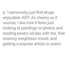 art, drug, and drugs image