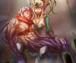 fan art, support, and lol image