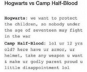 harry potter, vs., and crossover image