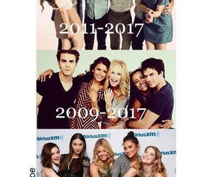 the vampire diaries and pretty little liars image