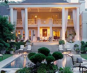 home, house, and pool image