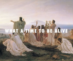 art, alive, and quotes image