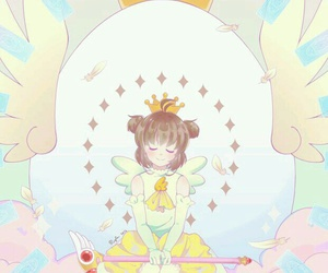 anime, kawaii, and sakura card captor image