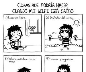 funny, wifi, and sarah andersen image