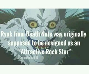 anime, death note, and anime facts image