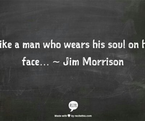 quote, soul, and Jim Morrison image