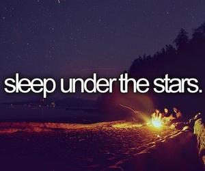 stars, quote, and sleep image