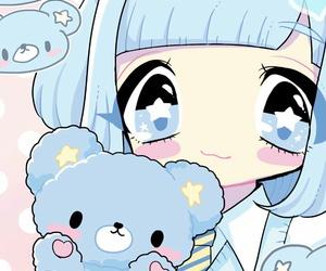anime, baby girl, and beauty girl image