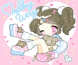 anime, baby doll, and illustration image