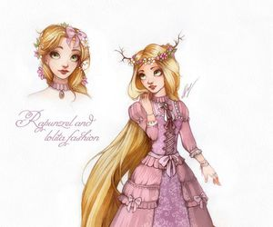 disney and raiponce image