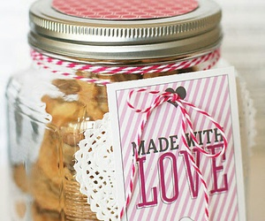 Cookies, gift, and home made image