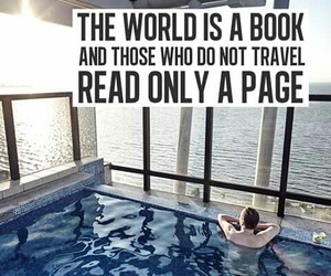 favourite, travelling, and quote image