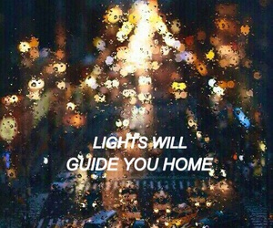 coldplay, lights, and phases image