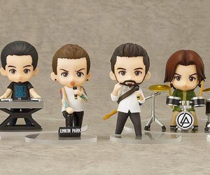 chester, rock band, and mike shinoda image