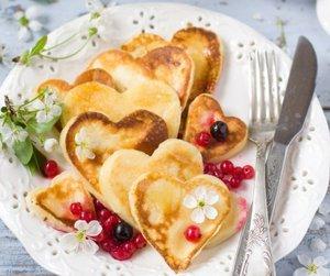 breakfast, pancakes, and sweet image