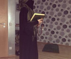 Algeria, niqab, and quran image