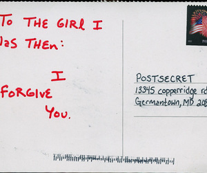 girl, quotes, and postcard image