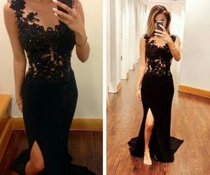 dress, prom dresses, and long prom dress image