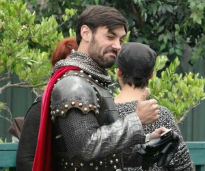 king arthur, once upon a time, and ️ouat image