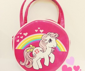 bag, my little pony, and pink image