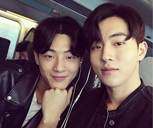 jisoo, actor, and nam joo hyuk image