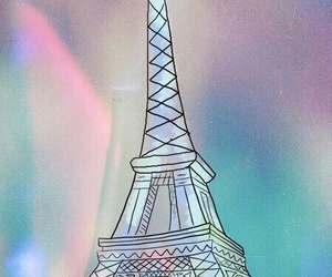 wallpaper, background, and eiffel image