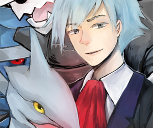 pokemon, steven stone, and aggron image