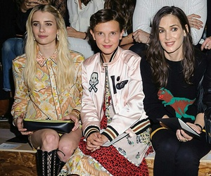queens, emma+roberts, and millie+bobby+brown image