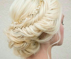 blond, trenza, and hair goal image