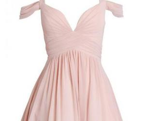 sweetheart dress, chiffon bridesmaid dress, and a-line homecoming dress image