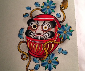 japanese, mask, and old school image