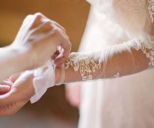 cute, beautiful, and wedding image