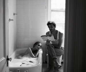 reading and showers image