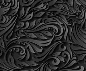 lindo, negro, and fondo image