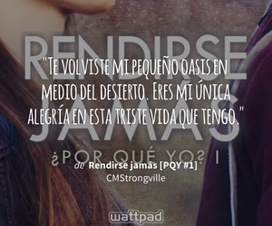 frases, romántico, and watpadd image