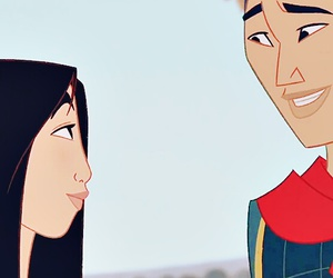 mulan, disney, and wallpaper image