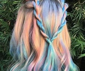 alternative, unicorn, and colors image