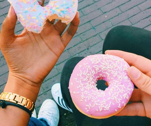 donuts, food, and yum image