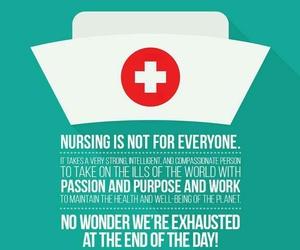 nurse, nurses, and nursing image