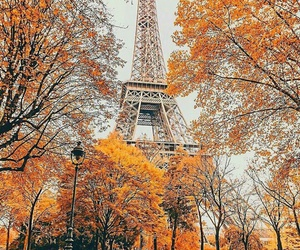 paris and autumn image