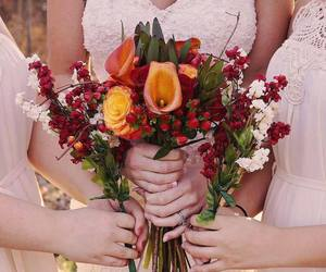 autumn, bouquets, and flowers image